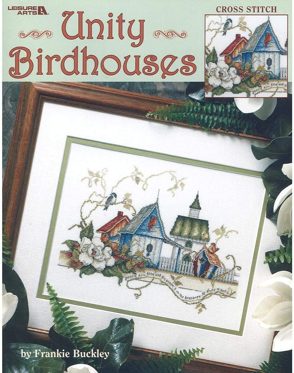 Cross Stitch Pattern Unity Birdhouses