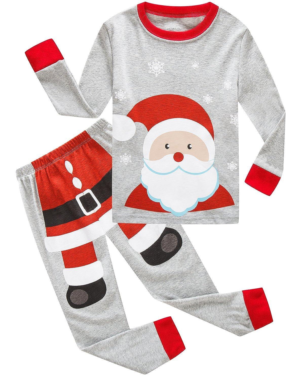 Dolphin& Fish Boys Christmas Pajamas Kids PJS Sets Cotton Toddler Clothes Children Sleepwear YAMZ603