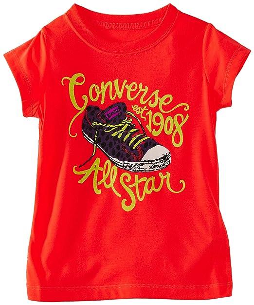 1849aa1d903 Amazon.com  Converse Girl s All Star 1908 Chuck Taylor Firey Coral ...
