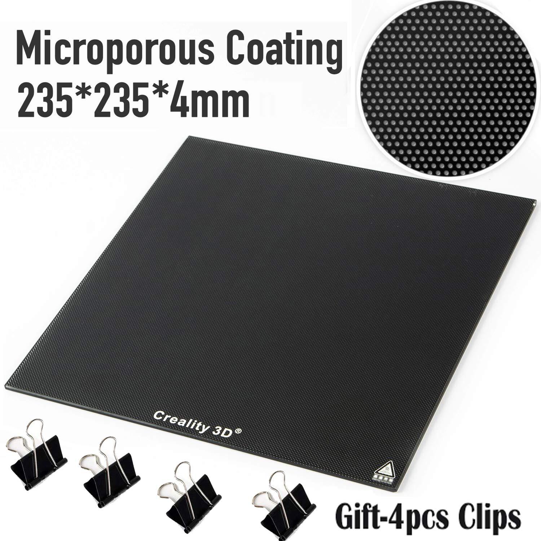 Creality Panel de placa de cristal para impresora 3D de 235 x 235 ...