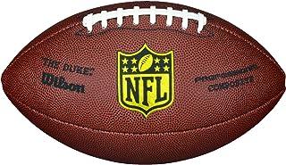 Wilson Ballon Football Américain, Utilisation récréative, Taille Officielle, NFL DUKE REPLICA, Brun, WTF1825