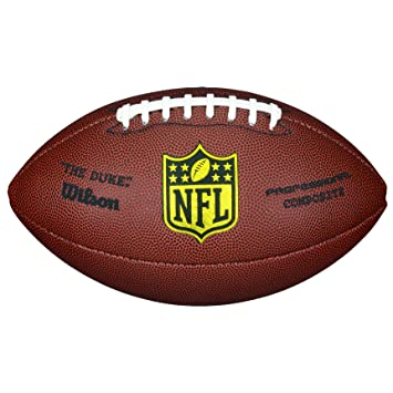 Wilson WTF1825 NFL Duke Replica Football 98fcf0bcf4042