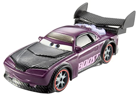 Cars 2 - Coche Ice Racers Color mágico Boost (Mattel CKD21)