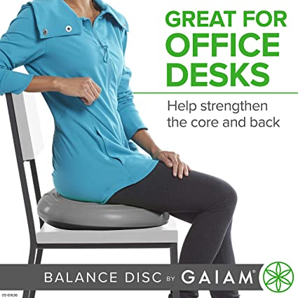 Balance disk for office desk chair gift