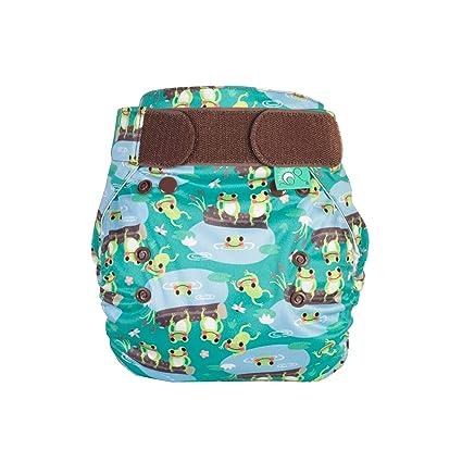 TotsBots PeeNut Wrap 5 Little Speckled Frogs - Pañales de tela ...