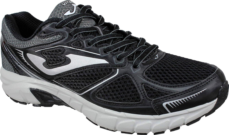 Joma VITALY Men 901 Negro - Zapatillas Running Hombre (44 EU, Negro): Amazon.es: Zapatos y complementos