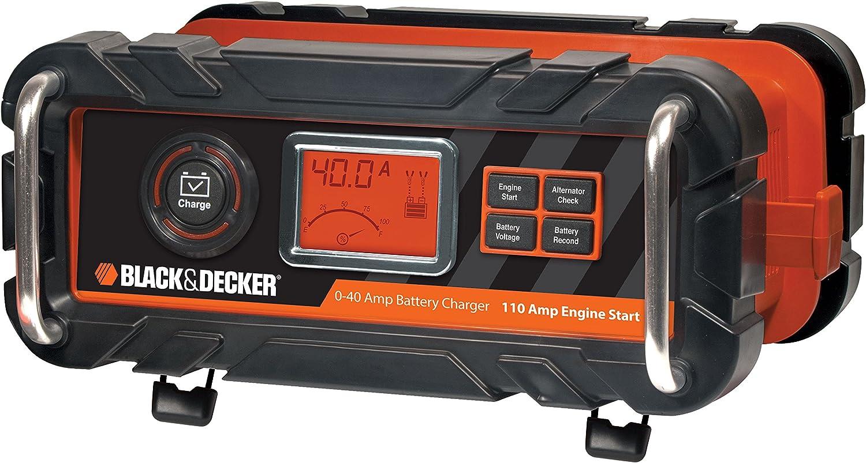 Amazon.com: Black & Decker bc40bd 40 Amp Cargador de batería ...