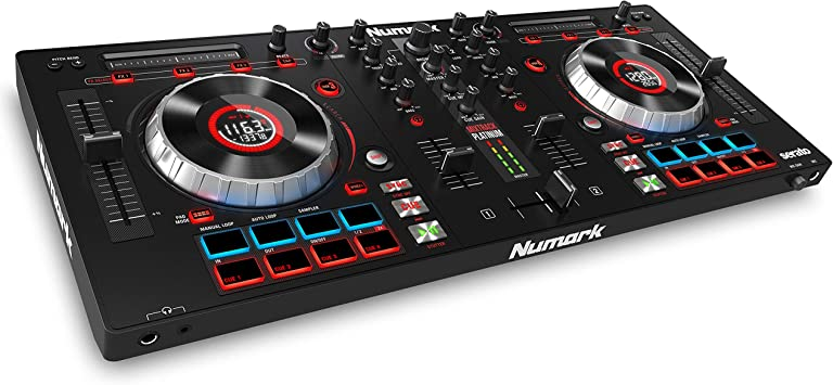 Numark Mixtrack Platinum - Controlador de DJ de 4 Decks con ...