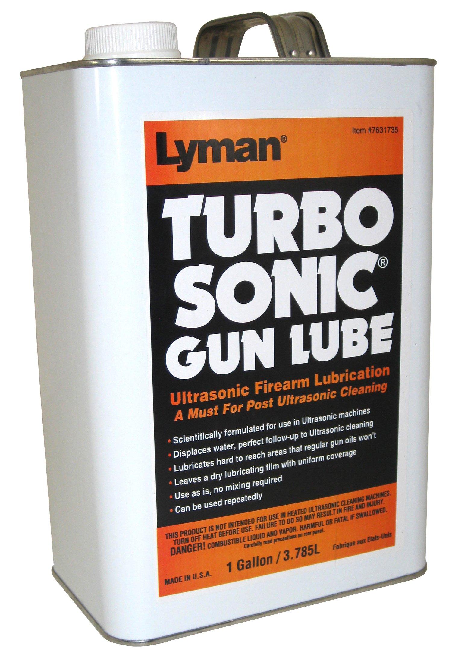 Lyman Products Ultrasonic Barrel/Gun Parts Lubricant, 1-Gallon by Lyman