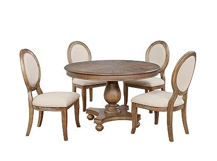 Powell Furniture 15D7053 Lenoir 5 PC Dining Set