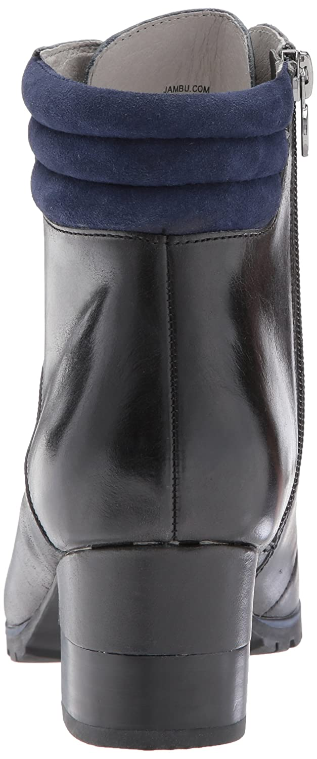 Jambu Women's Burch Water Resistant Ankle Bootie B01MUHHCIQ 8 B(M) US|Midnight
