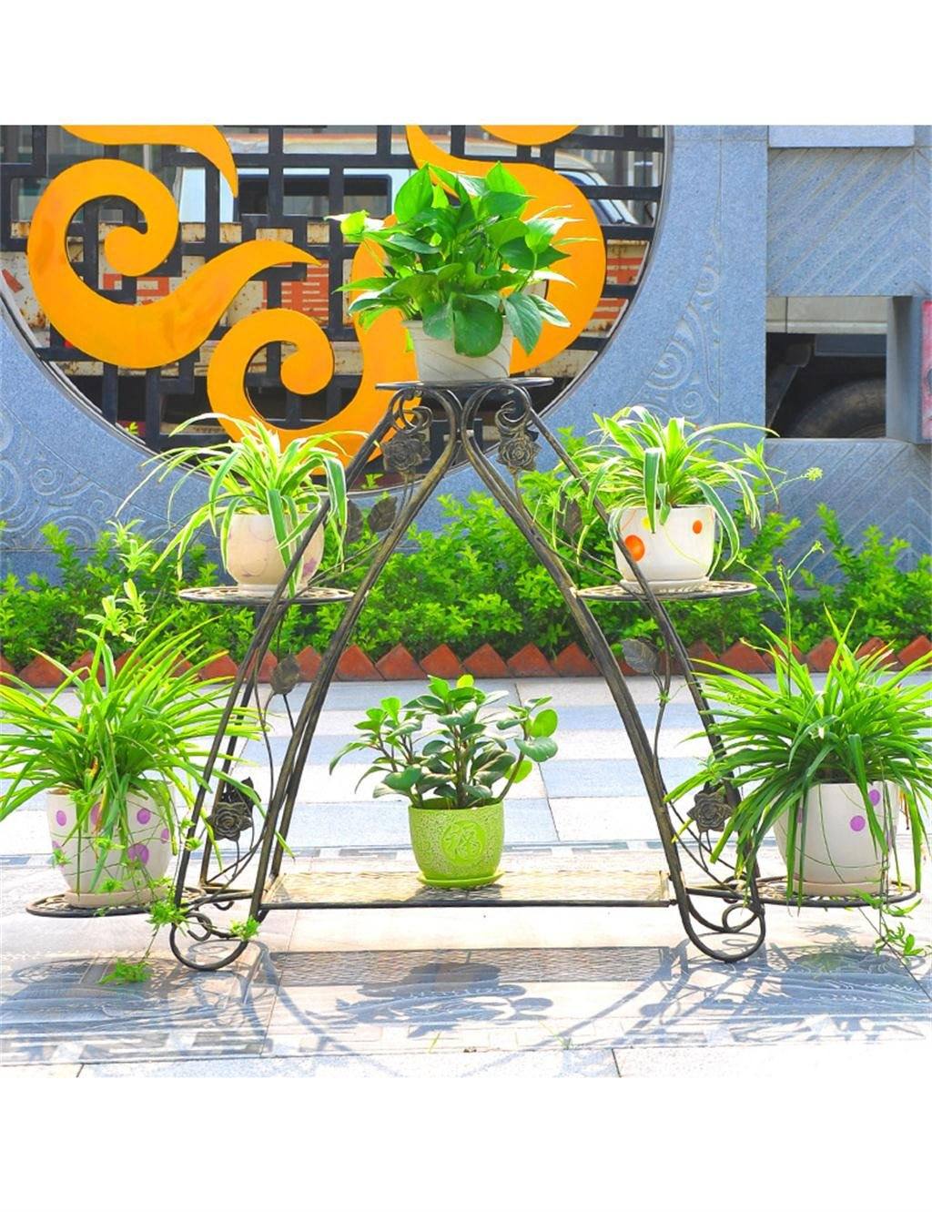 Lb Eisen Blumenhalter Multi Layer Indoor Und Outdoor Wohnzimmer