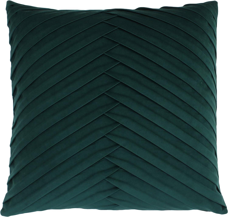Thro By Marlo Lorenz Velvet Pillow 20x20 Square Eden Home Kitchen