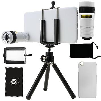 Juego de Lentes para Camara iPhone 6 Plus / 6S Plus incluye Lentes Telefoto 8X /