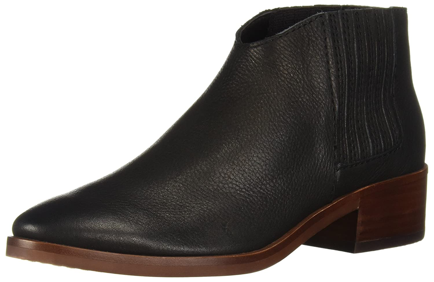 Dolce Vita Women's Towne Ankle Boot B07C9HBYRZ 6 B(M) US|Black Leather