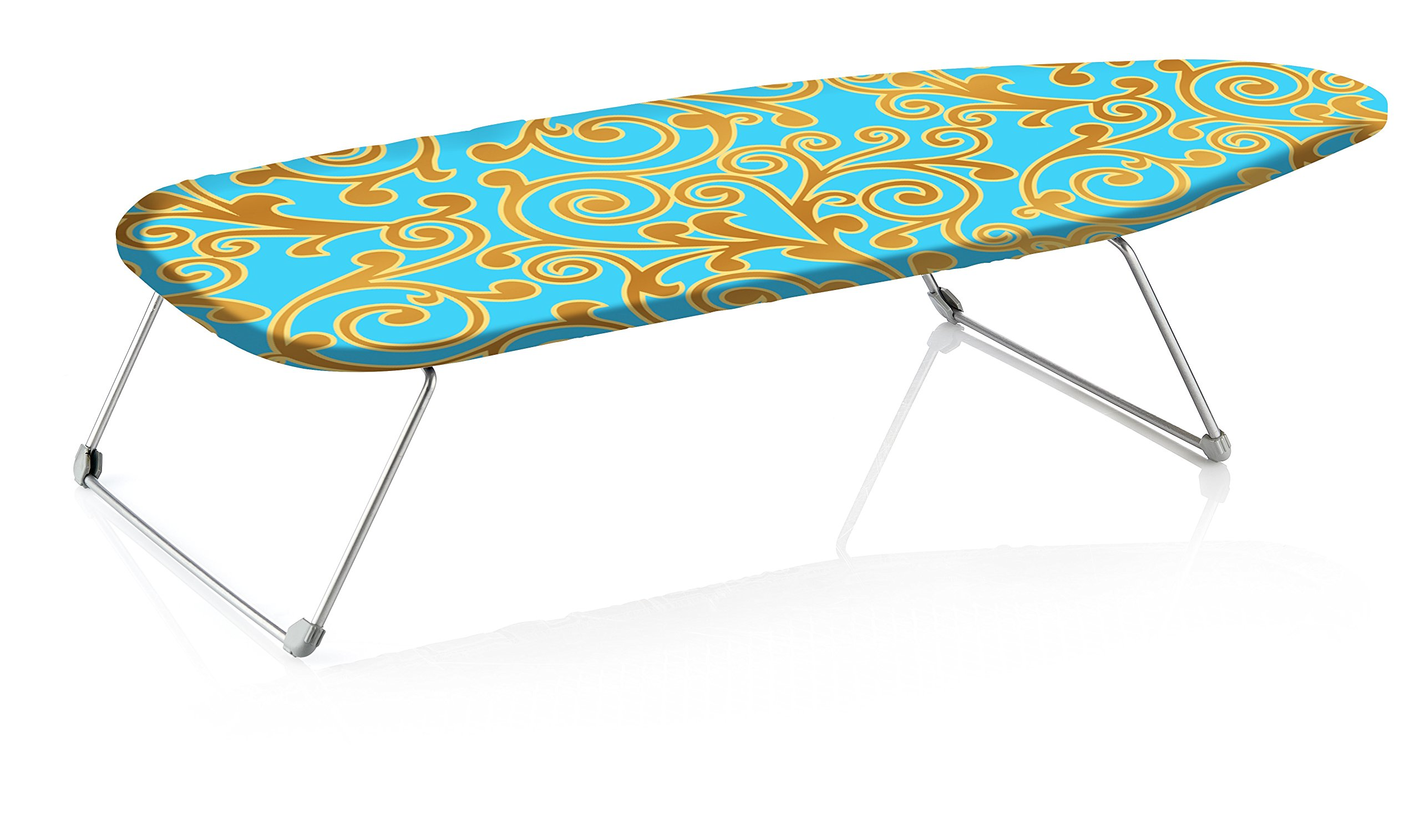 perilla Mini-B Portable Table Top Ironing Board with Folding Legs, 12 by 30''