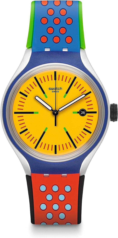 Swatch Armbanduhr Amarelho YES4015
