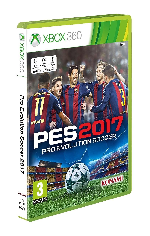 PES 2017 (Xbox 360): Amazon co uk: PC & Video Games