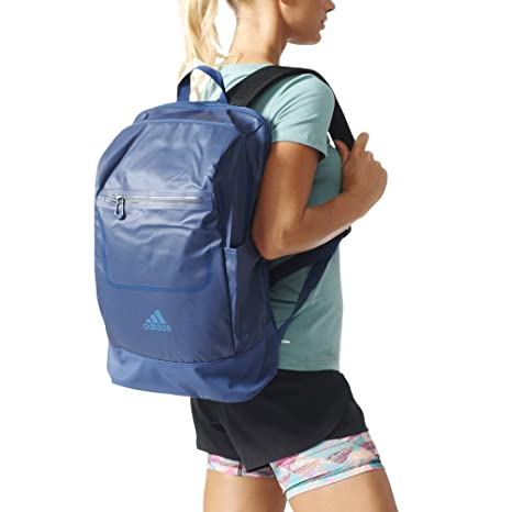 7dded12f70 Image Unavailable. Image not available for. Color: adidas Unisex Training  Backpack (Mystery Blue/Scarlet/Black)