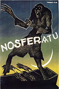 American Gift Services - Vintage Vampire Horror Movie Poster Nosferatu - 11x17