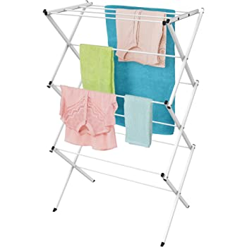 Amazon Com Lavish Home Clothes Drying Rack 24ft Of