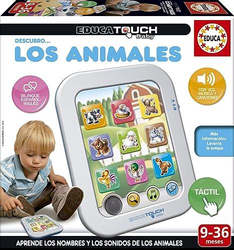Amazon.es: Educa Touch - Baby Descubro... los Animales, Juego de ...
