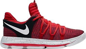 5afc658e4cb1 Nike Kids  Preschool Zoom KD 10 Basketball Shoes (Red