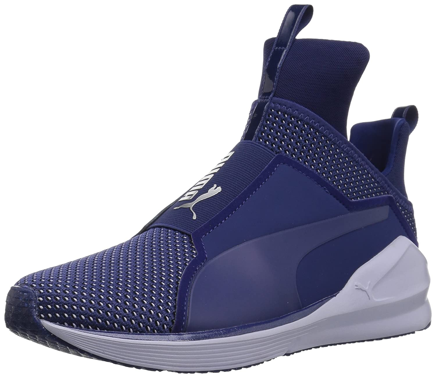 PUMA Women's Fierce Velvet Rope Wn Sneaker B06XWHWDHK 10 M US|Blue Depths-icelandic Blue