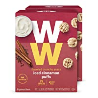 WW Iced Cinnamon Puffs - Gluten-free, 2 SmartPoints - 2 Boxes (10 Count Total) -...