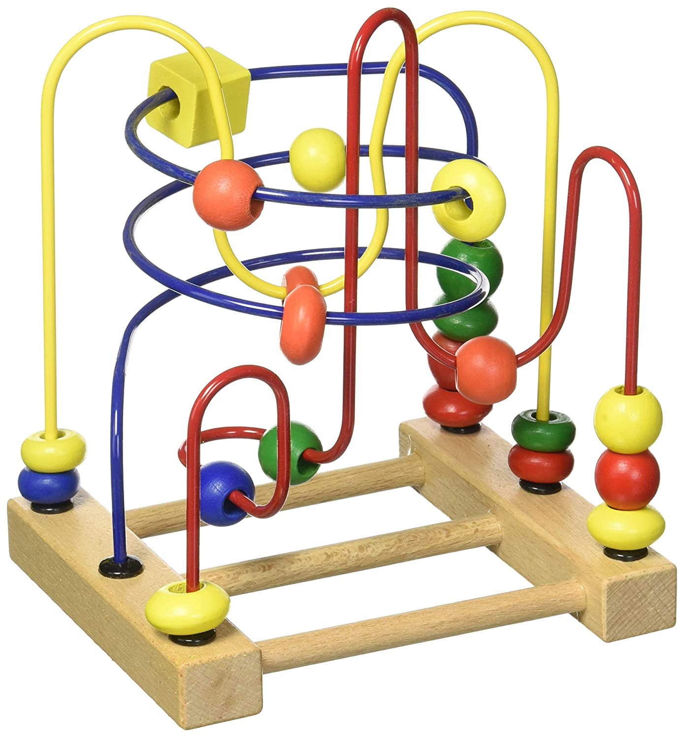 Imagination Generation Developmental Wooden Bead Maze Game
