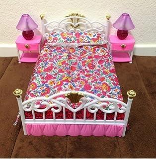 new gloria bedroom play set amazoncom barbie size dollhouse