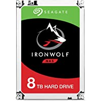Seagate IronWolf 8 TB NAS RAID Internal Hard Drive - 7,200 RPM SATA 6 Gb/s 3.5-inch (ST8000VN0022)