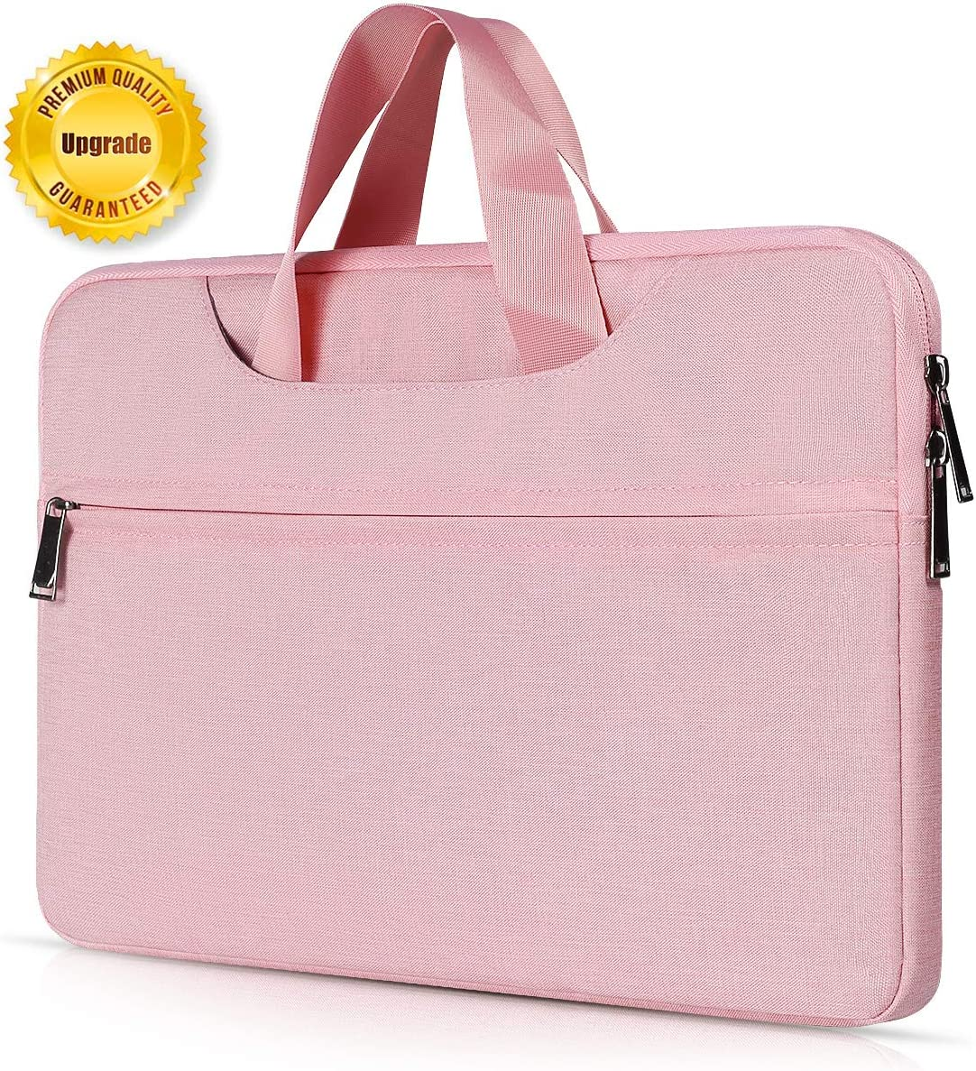 15.6 Inch Laptop Sleeve Case for Acer 15.6 Inch Flagship, Acer Chromebook 15, Lenovo Yoga 720/730 15.6, Lenovo IdeaPad, HP Pavilion, ASUS VivoBook, MSI GL62M, Water Resistant Notebook Case, Pink