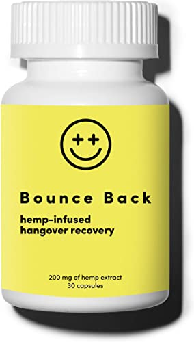 Bounce Back Hangover Cure and Prevention Pills 30 Capsule