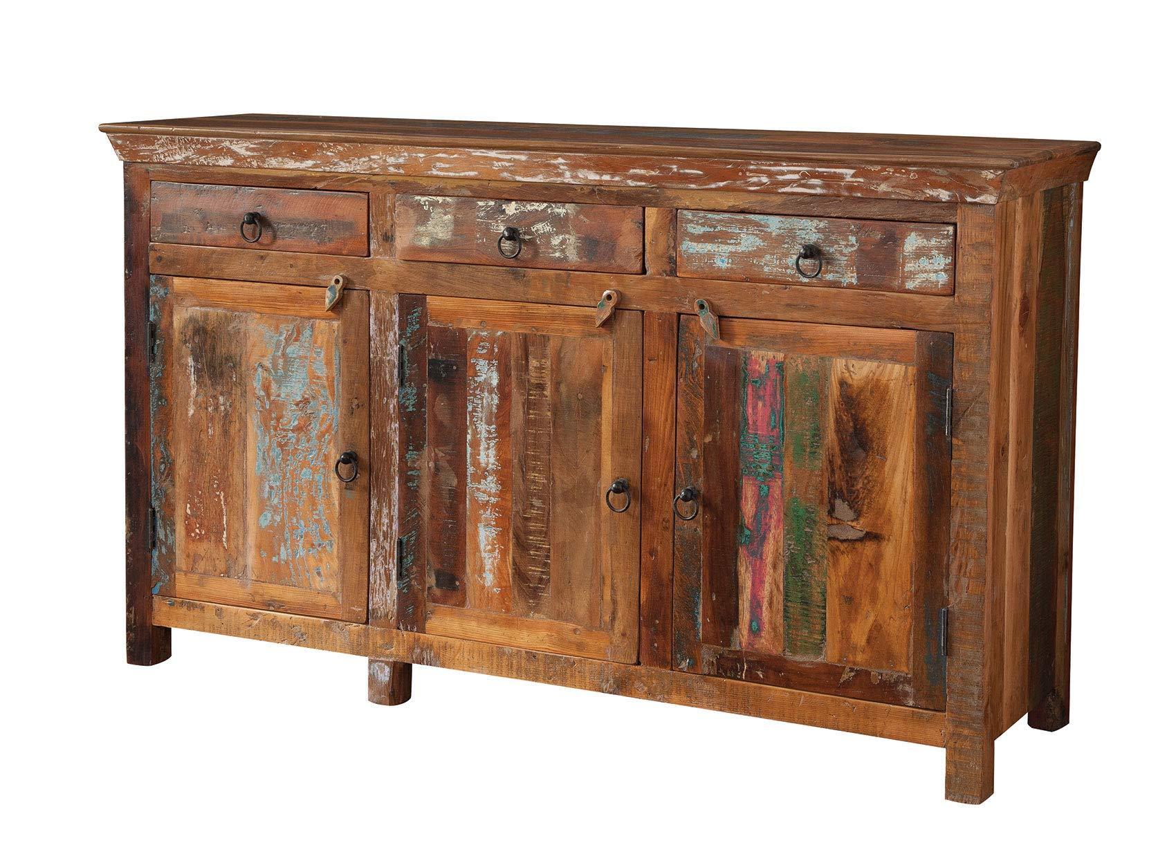 Coaster Home Furnishings 3-door Accent Cabinet Reclaimed Wood by Coaster Home Furnishings