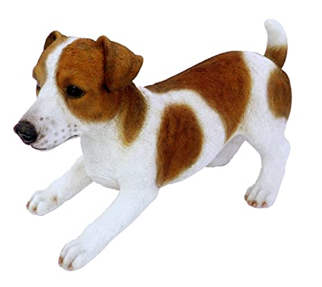 Garden & Patio Home or Garden ornament Large Jack Russel