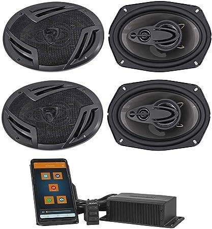 "Stereo Radio Car Truck Home Speaker Grills Screens Covers 6x9/"" 4 Black"