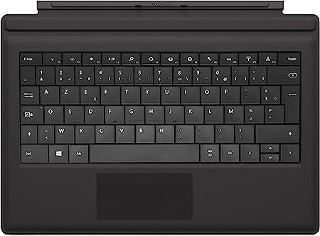 Microsoft RD2-0068 Teclado para móvil AZERTY Francés Negro Cover Port - Teclados para móviles (AZERTY, Francés, Touchpad, Surface Pro 3, Negro)