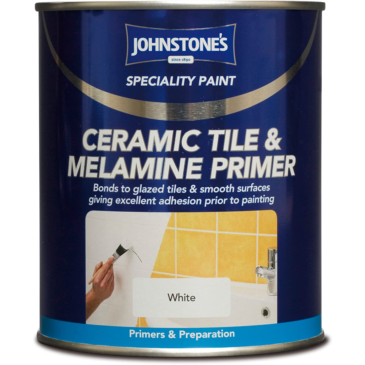 Johnstones specialty ceramic tile and melamine primer 750ml johnstones specialty ceramic tile and melamine primer 750ml amazon diy tools dailygadgetfo Image collections