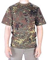 Flecktarn Army Camouflage Military T-Shirts Army Camo Tops