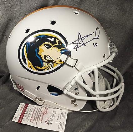 3fda0206 Alvin Kamara Autographed Signed Tennessee Volunteers Full Size Helmet JSA W  COA Fs Saints