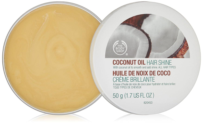 The Body Shop Coconut Oil Hair Shine . Aceite de coco sólido para el cuerpo. Bálsamo de coco. Contiene: 50 g