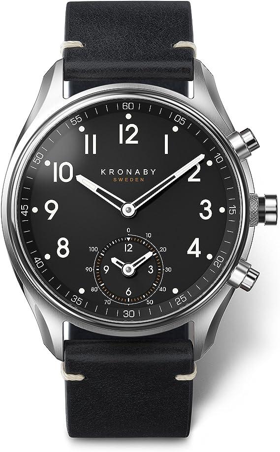 Kronaby Apex 43mm Smart Hybrid Watch A1000 1399   Reloj