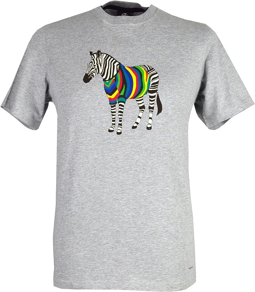 Paul Smith - Camiseta - para hombre gris gris Large: Amazon.es: Ropa y accesorios