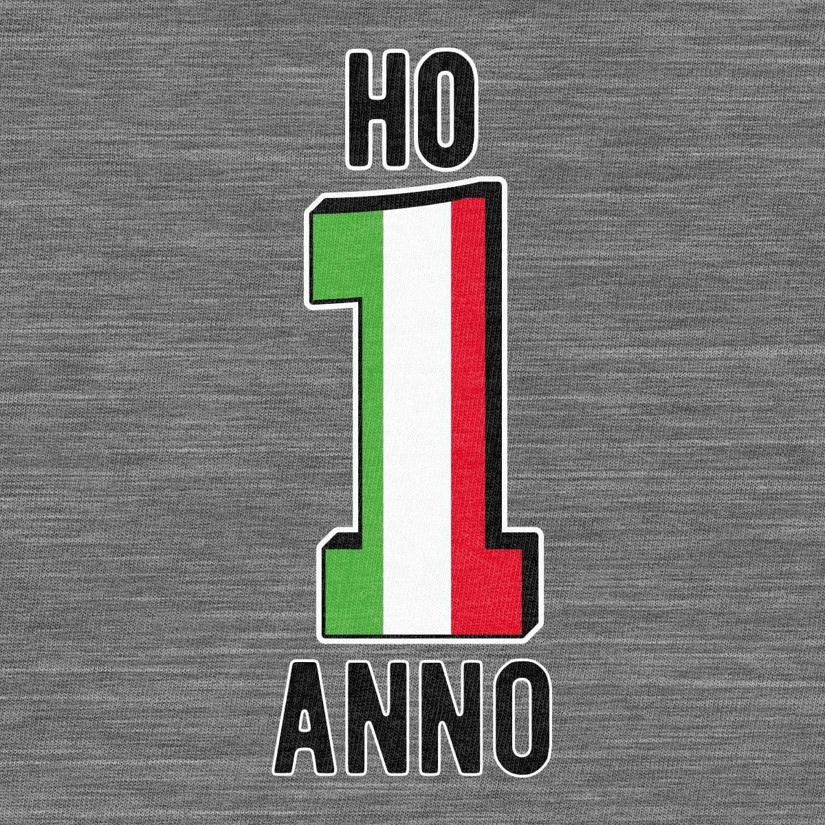 Shirtgeil Ho 1 Anno Regalo per Primo Compleanno Maglietta Neonato Unisex