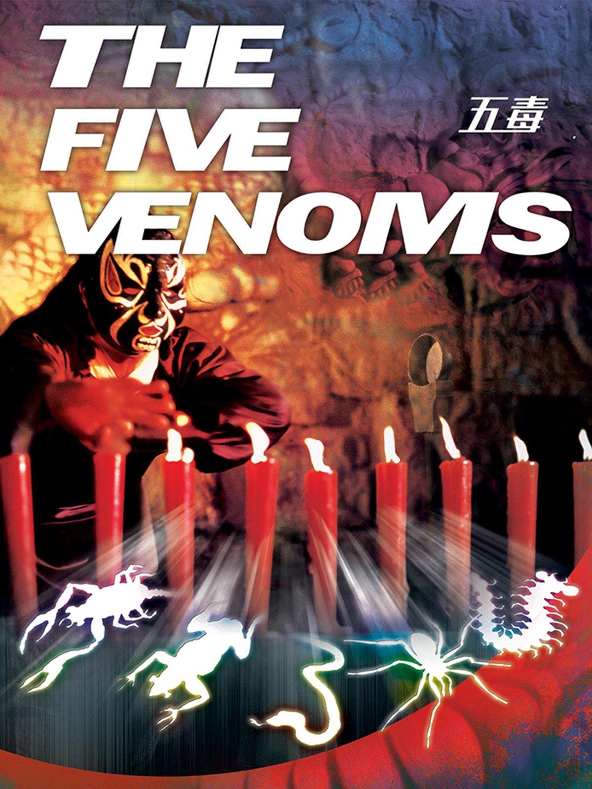 The Five Venoms on Amazon Prime Video UK