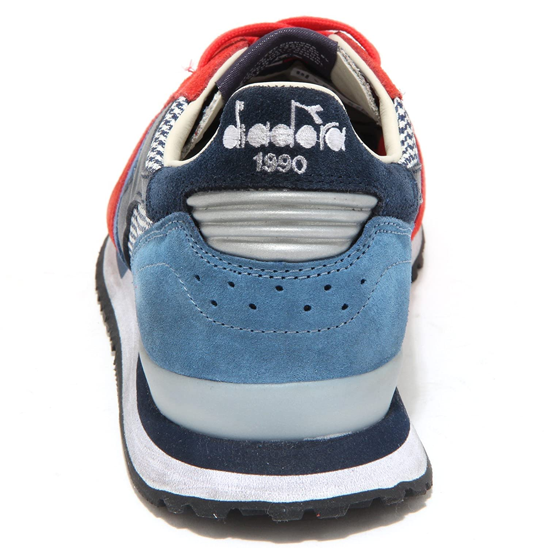 6458N sneakers uomo DIADORA HERITAGE rossoblu sneaker shoes