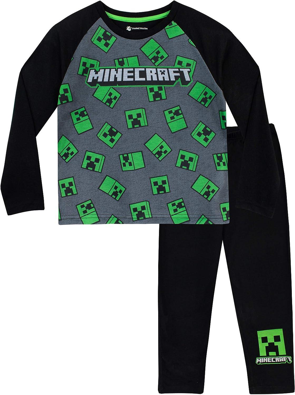 Minecraft Pigiama Nero