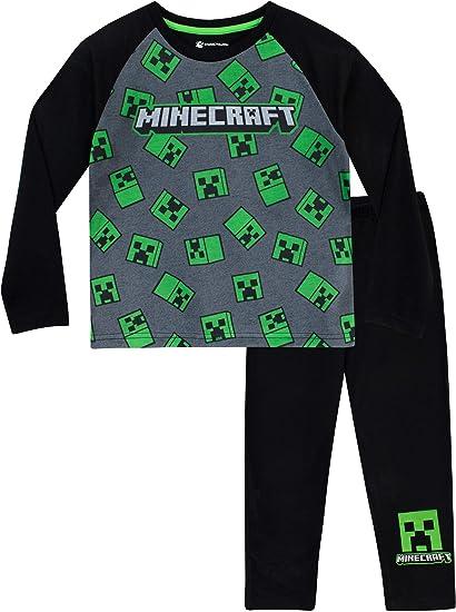 Minecraft Creeper Vestaglia da Notte per Ragazzi