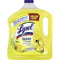 Deals on Lysol Clean & Fresh Multi-Surface Cleaner Lemon & Sunflower 90 oz